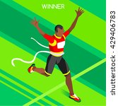 Marathon Finish Line African...