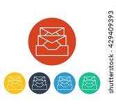 vector inbox icon