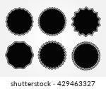 vintage label.decorative frame... | Shutterstock .eps vector #429463327