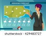 a vector illustration of tv... | Shutterstock .eps vector #429483727