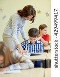 education  elementary school ... | Shutterstock . vector #429499417