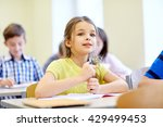 education  elementary school ... | Shutterstock . vector #429499453