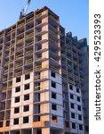 construction of multi storey... | Shutterstock . vector #429523393
