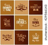 happy father's day design... | Shutterstock .eps vector #429566143