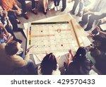 calendar planner organization... | Shutterstock . vector #429570433