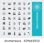 science icon set vector | Shutterstock .eps vector #429663523
