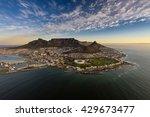 table mountain sunset | Shutterstock . vector #429673477