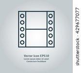 vector filmstrip icon
