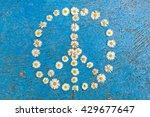 peace sign  peace symbol  peace ... | Shutterstock . vector #429677647