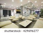 modern luxury hotel lobby...   Shutterstock . vector #429696277
