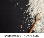 rice on black background | Shutterstock . vector #429715687