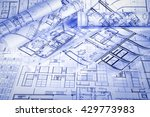 architectural project | Shutterstock . vector #429773983