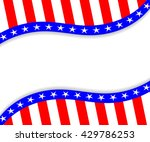 template for 4th of july. usa... | Shutterstock .eps vector #429786253