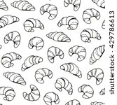 seamless vector pattern with... | Shutterstock .eps vector #429786613