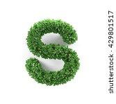green leaves s ecology letter...   Shutterstock . vector #429801517