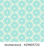 abstract floral pattern.... | Shutterstock .eps vector #429805723