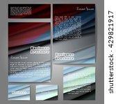 corporate identity template set.... | Shutterstock .eps vector #429821917