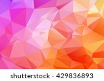 abstract polygonal mosaic... | Shutterstock .eps vector #429836893