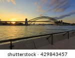 Sydney Harbour Bridge With...