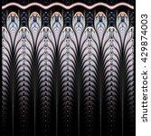 Symmetrical Blue Fractal Flowe...