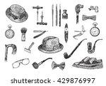 victorian era collection ... | Shutterstock . vector #429876997