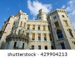 Castle Neogothic Hluboka Nad...