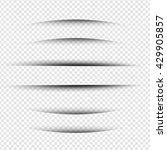 line shadow   website design... | Shutterstock .eps vector #429905857