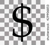 vector black dollar icon jpg on ...