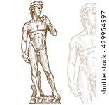 David Statue Of Michelangelo O...