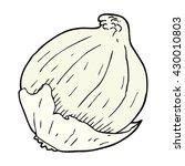 freehand drawn cartoon onion