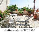 luxury hotel building complex... | Shutterstock . vector #430013587