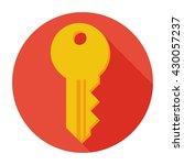 key icon flat  key icon  key...