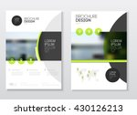 catalogue cover design. annual... | Shutterstock .eps vector #430126213