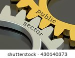 public sector concept on the... | Shutterstock . vector #430140373