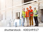 Construction Workers. Team Of...