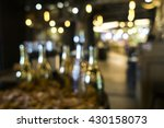 blurred image of liquor shop... | Shutterstock . vector #430158073