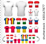 collection of various soccer... | Shutterstock .eps vector #430167877
