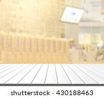 table top and blur restaurant... | Shutterstock . vector #430188463