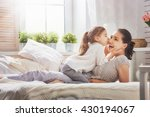 happy loving family. mother and ... | Shutterstock . vector #430194067