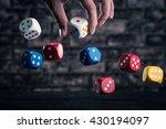 dice | Shutterstock . vector #430194097