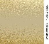 gold glitter texture.gold... | Shutterstock .eps vector #430196803