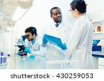scientific consulting | Shutterstock . vector #430259053