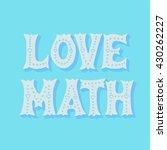 handwritten design element.... | Shutterstock .eps vector #430262227