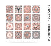 sacred geometry. set of minimal ...   Shutterstock .eps vector #430272643