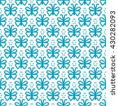repeating geometric pattern of... | Shutterstock .eps vector #430282093