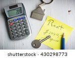 rent house or apartment concept ... | Shutterstock . vector #430298773