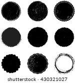vector vintage stamps...   Shutterstock .eps vector #430321027