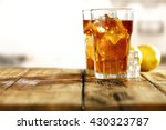 Stock photo sweet cold ice tea 430323787