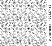 seamless pattern with flowers . ... | Shutterstock . vector #430527463