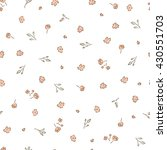 delicate background. small ... | Shutterstock .eps vector #430551703